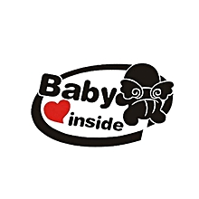 19x11cm Baby on Board Reflective Car Stickers Auto Truck Vehicle Motorcycle Decal-