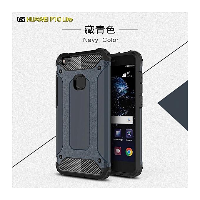 super cute b643b b91df For Huawei P10 Lite Case Cover Luxury Hybrid Shockproof Armor Phone Cases  For Huawei P10 Lite Back Cover Hard PC TPU Case