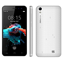 HT16 1GB+8GB 5.0 Inch Android 6.0 MTK6580 Quad Core Up To 1.3GHz Dual SIM 3G Smartphone(White)