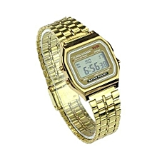 Sports Watch Gold And Silver Watches F91 & A159w Hot Seller Digital Wristwatch(Gold)