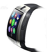 Bluetooth Smart Watch Curved surface Camera Support SIM Card For Smartphone SL