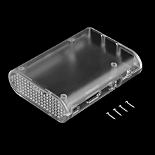 Plastic Protective Case Cover Shell For Raspberry pi 2 Enclosure Housing transparent