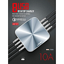 Multiple Charger - LDNIO 8 USB Port - Grey