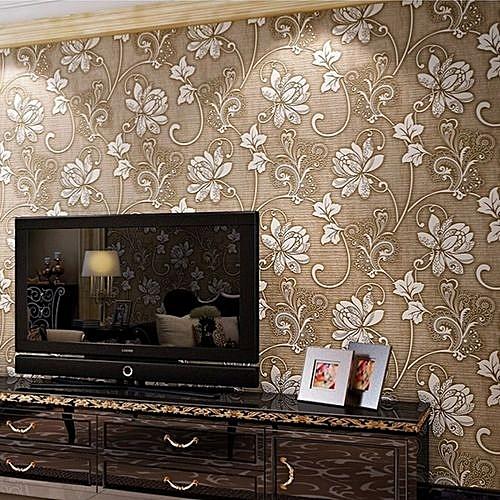 UNIVERSAL 10m 3D Wallpaper Bedroom Living Wall Modern Background ...