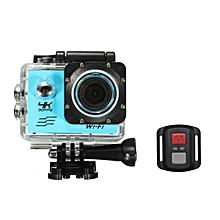 SJCAM 4K Allwinner V3 For SONY 179 Sensor Sports Camera 170 Degree Wide Angle With Wrist RF With Remote Control Vs EKEN Blue
