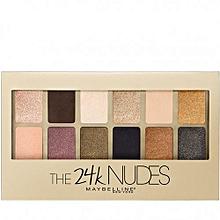 Eye Shadow Nudes Palette - 24k