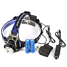 T6 LED 18650 1200LM Rechargeable Diving Torch Waterproof Super Bright