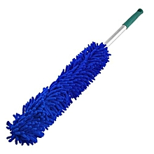 Microfiber, Blue, Handle For Car, Washing, Cleaning And Dust Brush