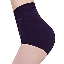 Seamless Women High Waist Corset Panties Slimming Tummy Belly Control Waist Panties Postnatal Body Shaper Shapewear Girdle Underwear High Waist Body Shaper Panties