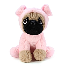 """New 8"""" Pug Soft Cuddly toy in Fancy Dress - Super Cute Quality Plush - UK Seller"""