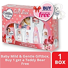 Baby Soft & Smooth Giftbox - Buy 1 Get a Teddy Bear Free