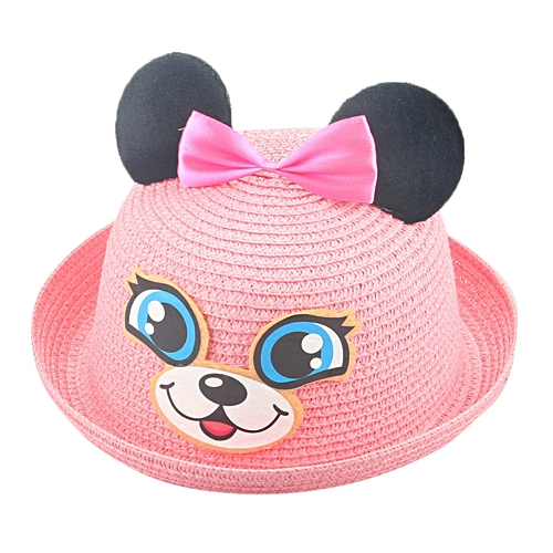 Generic jiuhap store Summer Baby Hat Cap Children Breathable Hat Straw Hat  Kids Hat Boy Girls Hats-As shown 8ffa1785d23