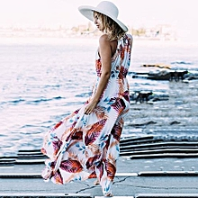 1 pcs Women Fashion Sexy Beach Dress Bohemian Beach Sling Dress