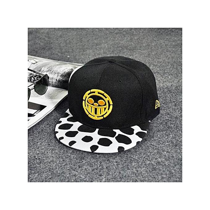 Fashion Embroidery Snapback Boy Hiphop Hat Adjustable Baseball Cap Unisex  Yellow d88e25e0ac