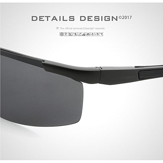 6362fe62142 Generic Men Polarized Sunglasses Coating Mirror Sports Goggles Alloy ...