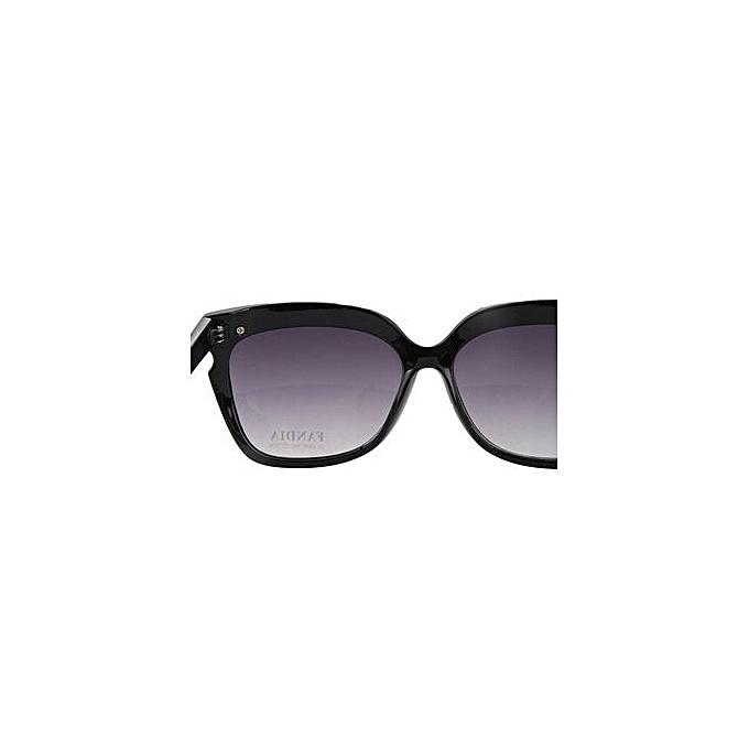 b6909da50a Fashion EOZY FASHION Women Oversized Sunglasses Ladies Eyeglasses Outdoor  Beach UV Protection Sun Glasses Eyewear (Black)   Best Price