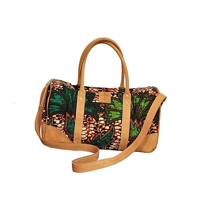 6250eb4de5b2 Generic Ladies Leather Kitenge Bag Style 3   Best Price