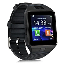 DZ09 Smart Phone Watch with Camera - Black