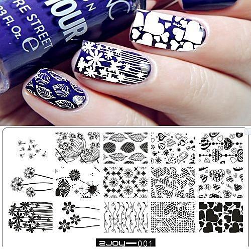 Buy Qibest Bluerdream New Women Nail Art Manicure Rectangle Nail Art