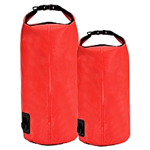 Waterproof Storage Dry Bag for Hiking Swimming Sports Canoeing Outdoor Camping Red