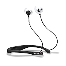 Reflect Fit Wireless Headphones with Heart-Rate Monitor -Black