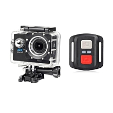 H16R WIFI Cam Sport Action Camera Underwater Camcorder 1080P with Wrist 2.4G Wireless RF Remote Control black JY-M