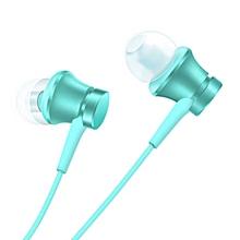 Piston Style 3.5mm Wired Earbud Earphone w/ Microphone - Blue