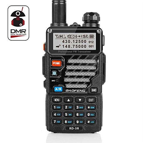 RD-5R DMR Tier II VFO Digital Dual Band 136-174/400-470MHz Two way Radio  Walkie Talkie Ham Transceiver HIVMD
