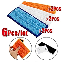 6Pcs/Lot Top Quality Cleaner Brushes Spare Parts Wet Pad Mop+Damp Pad Mop+Dry Pad Mop For Braava Jet240/241