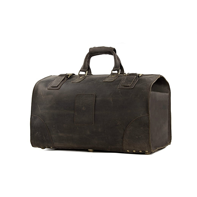 Fashion BLUESEBE LARGE VINTAGE GENUINE LEATHER TRAVEL DUFFLE BAG ... e8240dee61