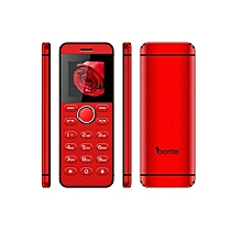 L1-Super Slim Metal Body. Hidden Top HD Camera. Background Video Function. Inbuilt Battery-Red
