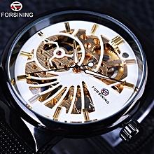 Forsining Fashion Luxury Thin Case Unisex Design Waterproof Mens Samll Dial Watches  Top Brand Luxury Mechanical c373fdff6ff