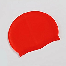 Silicone Waterproof Swimming Caps Protect Ears Long Hair Sports Swim Pool Hat