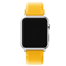 Sports Silicone Bracelet Strap Band For Apple Watch iwatch Series 1/2 42MM YE-Yellow