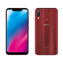 Camon 11 32GB + 3GB RAM 16MP Bordeaux Red Faiba Support