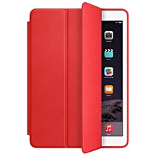 Slim Smart Case For IPad Air 2 Leather Stand Magnetic Cover 2014 RED