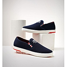 Men Hollow Woven Breathable Mesh Shoes