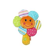 Sunflower Rattle Toy - Multicoloured
