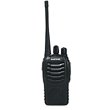 2pcs BAOFENG BF-888S Walkie Talkie With High Brightness FlashlightEU PLUG_BLACK
