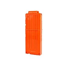 Soft Bullet Clips For Nerf Toy Gun 12 Bullets Ammo Cartridge Dart Nerf Gun Clips - Orange