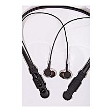 Headset Wireless Bluetooth Headphones - Black