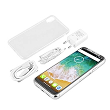 IPX 5.7' HD 18:9 Aspect Ratio Screen 3G Smartphone With Dual SIM Card Sandby-white