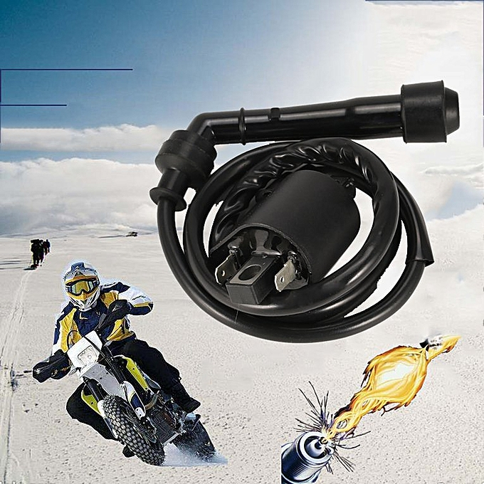 Motorcycle Motorbike Ignition Coil For Honda Trx420Fe Trx420FPE Car-styling  black