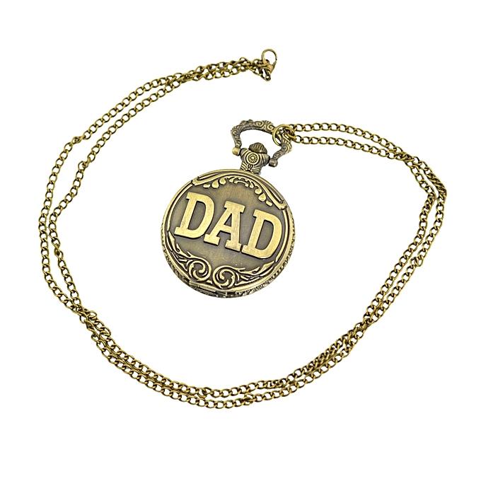 67956d9d6 Vintage Bronze Engraved Men Pocket Watch Antique Men Quartz Watch with  Pendant Chain Christmas Father's Day