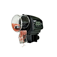Timer Automatic Aquarium Tank Fish Feeder -Black
