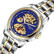 WLISTH Men Automatic Mechanical Wristwatch Male Golden Watches Men Clock Top Brand Luxury Famous Relogio Masculino Hodinky 1001