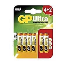 Alkaline Battery AAA 4+2 GP