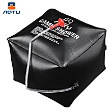 Ultralight Portable Compact Camping Fishing Water Bags Camp Shower - Black