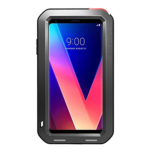 new style 25d7e 302d8 LG V30 Waterproof Case, Shockproof Snowproof Dustproof Durable Aluminum  Metal Heavy Duty Full-body Protection Case Cover for LG V30