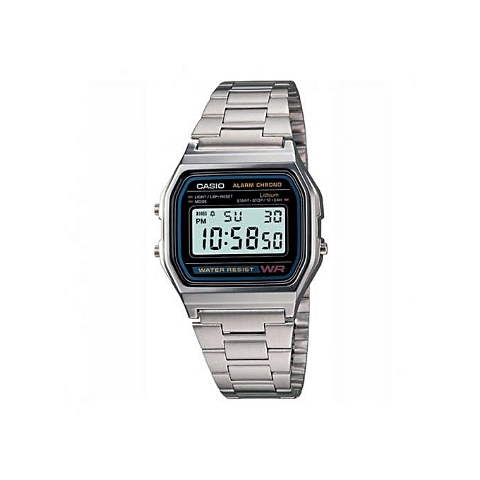 398827a7c68b CASIO Silver Digital Unisex Watch Retro Vintage Collection   Best ...